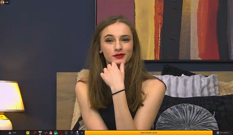 Hot Russian model in premium chat on LiveJasmin
