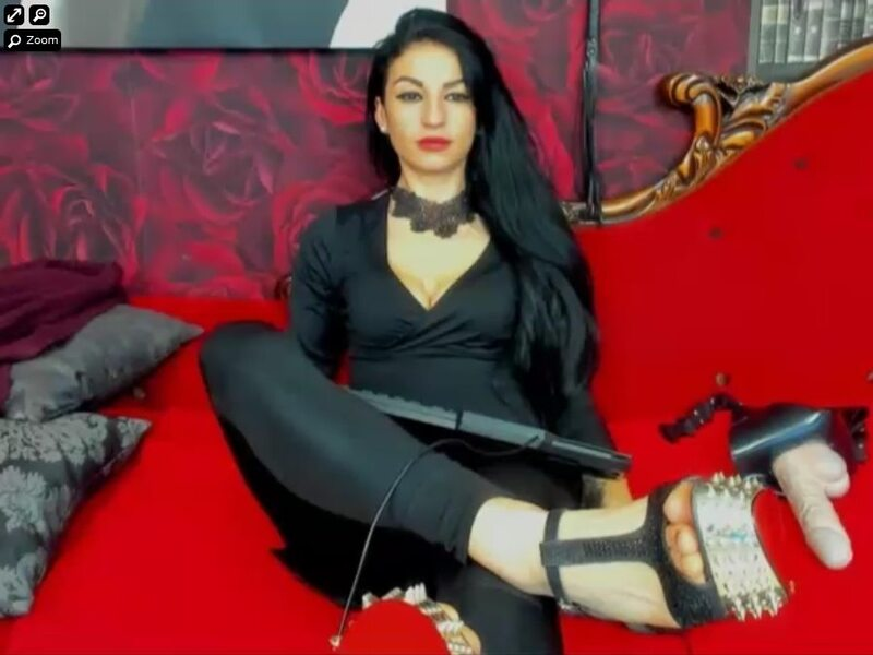Mistress wearing black and high heels on xLoveFetish